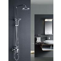 Bathroom Shower Sets Rainfall Wall Mounted Shower Head with ...