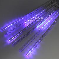 2m*30cm Blue Light 144 LED Meteors Tube with 5w 3LM 220v Wat...