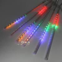 2m*30cm RGB Light 144 LED Meteors Tube with 220V with 5w 3LM...