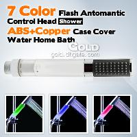 Automatic Control 7- color Change Shower Heads Faucet