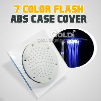Automatic 7- Color LED Water Glowing Shower Head Light ABS ma...