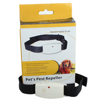 New Ultrasonic Pet Dog Protect Pest Repeller Anti Fleas Tick...