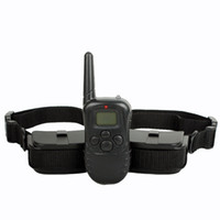 Remote Pet Training Collar With LCD Display for Two Dogs