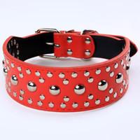 Stylish Dog Collars with Retro Rivet Style LX- 235