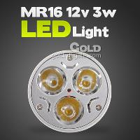 New Design High Quality 12V MR16 3w 3LED Light Energy- saving