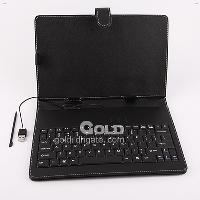 "USB Keyboard Leather Case For 10. 2"" Zenithink ZT- 180 eP..."