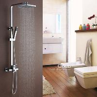 Bathroom Rainfall Sets (Grand Square Shower Head+ Handheld sh...