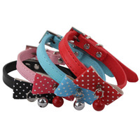 Pet Dog Fashion Collar With Bow Tie and Small Bell
