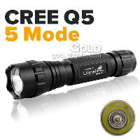 Ultrafire Cree Q5 LED 5- Mode 210LM Flashlights Waterproof Fr...