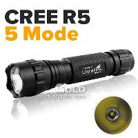 Ultrafire Cree R5 LED 5- Mode 320LM Flashlights made with Alu...