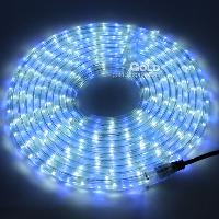 Blue+ White LED QTY 50pcs m Flat three lines LED strips Water...