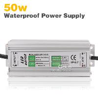 50w LED Light Driver Waterproof Power Supply AC90- 265V 1500m...