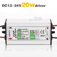 20w LED Light Driver Waterproof Power Supply DC12- 24 600mA