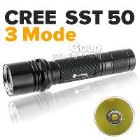 Anowl AK45 Cree SST 50 3- Mode 1300LM Flashlights 18650 Lion ...