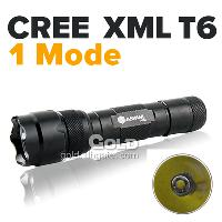 Factory Supply Anowl AK52 Cree XML T6 1- Mode 1000LM Flashlig...