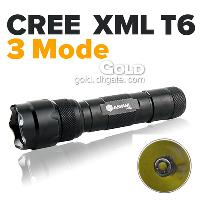 Factory Supply Anowl AK52 Cree XML T6 LED 3- Mode 1000LM Flas...