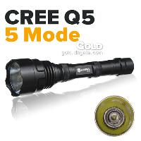 5 Mode 210LM LED Flashlight Anowl AF900 CREE Q5 28h From Fac...