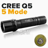 Brand New Ultrafire Cree Q5 5- Mode 210LM White LED Flashligh...