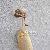 New Stylish Metal Wall Mounted Bronze Finish Clothes Hook