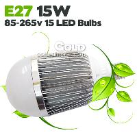 Energy- saving LED Bulb 85- 265v LED Light 15W E27 1500lm 2 Ye...