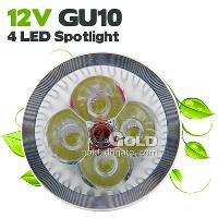 Energy- saving LED Spotlight 360lm 12V GU10 4 LED 4w LED Ligh...