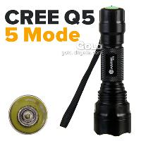 Anowl AF12 CREE Q5 5 Mode 210LM LED Flashlight Water Resista...