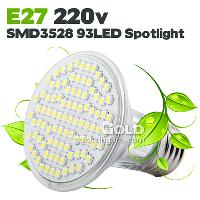Energy- saving LED Light E27 B22 220V SMD3528 LED Spotlights ...