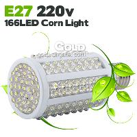 Power- Saving E27 220V 10W 950LM 166 LEDs LED Corn Light ligh...