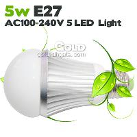 Power- Saving LED Bulbs 5W E27 GU10 AC100- 240V LED Lights Lam...