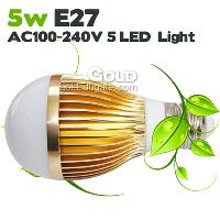 New Design High Quality LED Bulbs 5W E27 GU10 AC100- 240V LED...