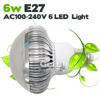 2 Years Warranty Power- Saving LED Bulbs 6W E27 GU10 AC100- 24...