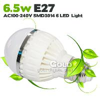 Energy Saving Led Bulbs 6. 5W E27 AC100- 240V 60- piece SMD3014...