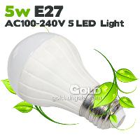 Power Saving LED Lights 5W E27 AC100- 240V LED Bulbs 475LM 50...