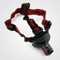 Head Lamp Light Flashlight 300 lume Zoom able Adjustable Foc...