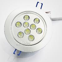 Brand New 85- 265v 9 LED Light 9W Luminous Flux 900lm Crystal