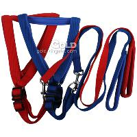 Large Size Dog Harness and Leashes in 2 Colors