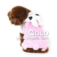 Cute Pet Coat with Rabbit Hat with Comfy Material LX- 4222