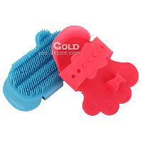 Plastic Pet Brush with Claw Shaped