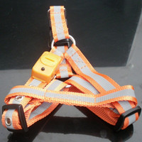 Pet LED Harness Multi Colors LX- 0406- 021