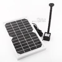 12V 5W Solar Power Water Pump Garden Pond Pool Fountain