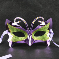 Gold small butterfly mask Costume Party Masquerade Mask