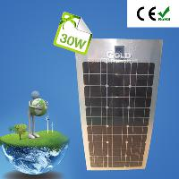 30W Flexible Monocrystalline Silicon Solar Panel