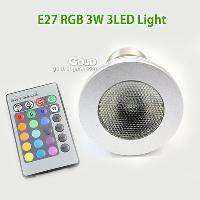 Energay Saving LED Spotlight 3W RGB LED Light 16 color with ...