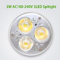 Power Saving LED Light 3W E27 3 LED Spotlights - Warm White,...