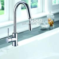 PBrass Kitchen Faucet with Anti- Leakage and Anti- Corrosion A...