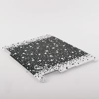 Sparkling Starts Crystal Diamond Cover Case for iPad 2 iPad3