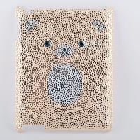 Fat bear Bling Crystal Diamond Cover Case for iPad 2 iPad3