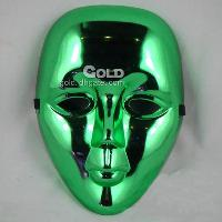 Electroplating Hip- Hop Mask Very Coolest Design LX- 0418- 20