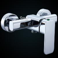 Widespread Contemporary Chrome Finish Bathtub Faucet with Si...