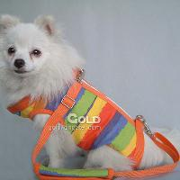 Multi- function Colourful Pet Harness with Canvas Material